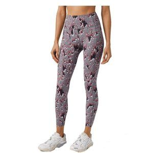 Lululemon  Floral Flux Multi Fast and Free HR Tigh